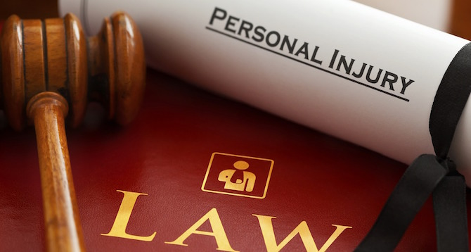 accident personal injury claim filled