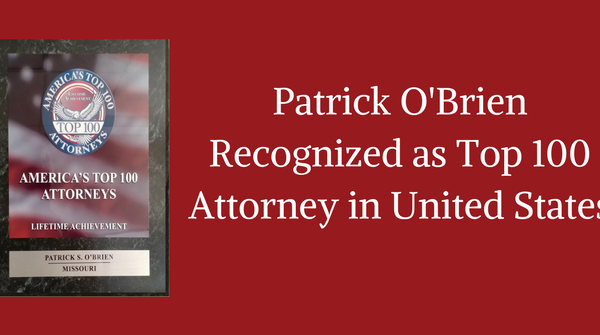 top personal injury attorney patrick o'brien st. louis